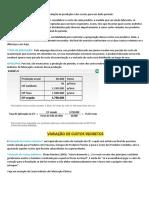 Aula_10 - CONTABILIDADE de CUSTOS - Taxa de Aplicação de Custos Indiretos