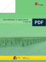 Diversification in Aquaculture - A Tool for Sustainability
