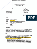 Woodmen IRS Ruling Letter