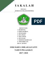 m a k a l a h Perkembangan Islam Di Indonesia