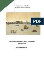 Serampore Initiative Project Brief Sept 2011