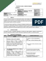 Sílabo Derecho Romano - WA