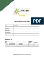 04.4.3 Procedure for Energy Audit