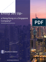 Entity Set Up a Hong Kong or a Singapore Company