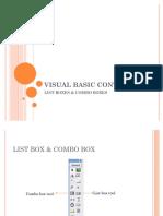 78035418 Listbox Combobox Visual Basic 6 0