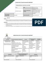Plan de Clase Fiesta de Lectura Segundo b de Bachillerato 2017-2018