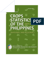 Crops Statistics of the Philippines - National and Regional, 2011-2015