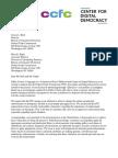 Letter to FTC Instagram Endorsements