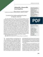 Sistema Endocanabinoide y Desarrollo de Esteatosis Hepatica