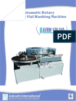 Automatic Rotary Ampoule Vial Washing Machine