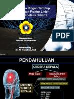 Post Maju Case Cedera Kepala