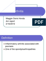 2.16.10 Davis-Hovda Psoaritic Arthritis