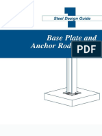 AISC Design Guide 01 - Base Plate and Anchor Rod Design