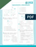 Ficha de Trabajo Conjuntos Representación y Determinación