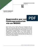 Entrepreneuriat MOOC