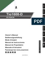 Tio1608 D Manual