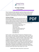 STRATEGY - The Origin of Strategy.pdf