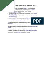 Temas Encargados Modelizacion Ambiental 2018