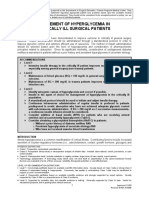 Management of Hyperglycemia in Critically Ill Surgical Patients