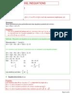 11 Equations Inequations