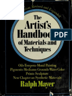 Ralph Mayer-The Artist's Handbook of Materials and Techniques-Viking Press (1970)