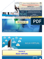 Sesion 02 Tic-01 2018 Aula Virtual
