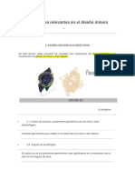 Seccion 3 -Variables Relevantes en El Diseño Minero