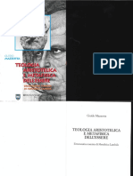 Teologia Aristotelica e Metafisica Dell'Essere - Introduzione