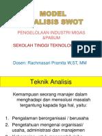 43824 Metode Swot Dalam Kajian Lingkungan
