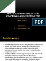 Risk Factors for Febrile Status Epilepticus.pptx