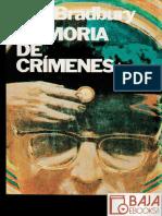 Memoria de Crimenes - Ray Bradbury