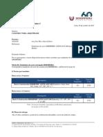 COTIZACION N° SP-CC-FH-0804-17