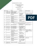 planificare anuala