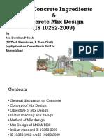 Ds_concrete Mix Design
