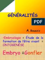 embryo Generalités