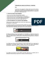Estándares de Cables Eléctricos y Tuberías