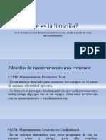 Filosofías y Herramientas de Mantto.