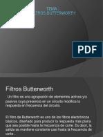 Filtros Butterworth