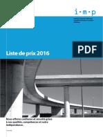 2016 Listedeprix Bautest F