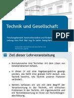 4-Praesentation_Technik Und Gesellschaft 2016S