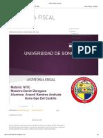 AUDITORIA FISCAL - Tipos, Concepto y Otros