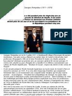 Georges Pompidou (1911-1974)