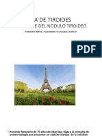CA de Tiroides