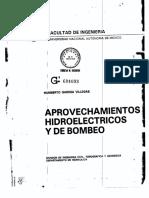 Aprovechamientos Hidroeléctricos y de Bombeo