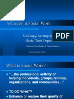 A Career in Social Work