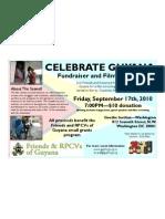 Friends & RPCVs of Guyana Fundraiser and Film Screening 09/10