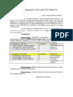 Resolucion Directoral de Delegada