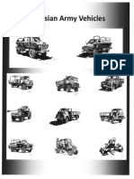 Rhodesian Army Vehicles