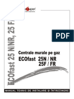 20 Arca Ecofast 25 Carte Tehnica CI 05.01.01 Ro