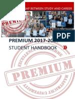 PREMIUM Student Handbook 2017-2018